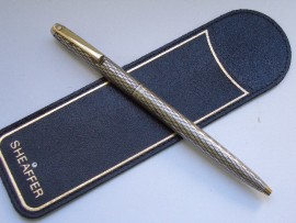 SHEAFFER IMPERIAL S/SILVER B/POINT 70s