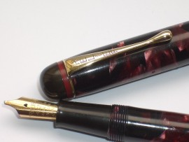 ESTERBROOK RELIEF 2-L RED PEARL 1930s