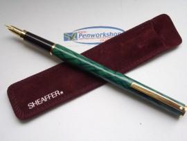 SHEAFFER FASHION II GREEN WEAVE 1992