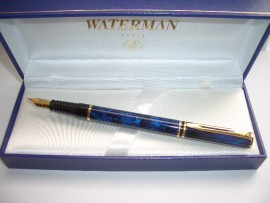 WATERMAN LAUREAT Mk11 BLUE MARBLE
