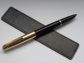 PARKER 51 CUSTOM BLACK 1960s Beauty!