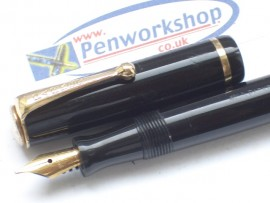 PARKER MODERNE c1932 BLACK BUTTON FILL