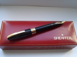 SHEAFFER PFM III F/Pen BLACK 1950s