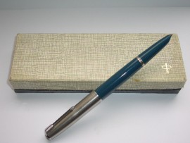 PARKER 51 CLASSIC TEAL 1950s Boxed.