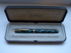 PARKER INSIGNIA LAQUE SEA GREEN 1998