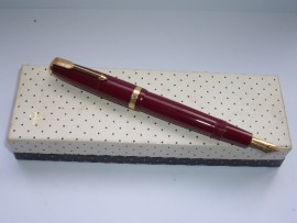 PARKER DUOFOLD RED 1950s UNINKED!