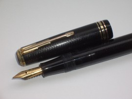 STEPHENS No 21 BUTTON FILL BLACK 1930s
