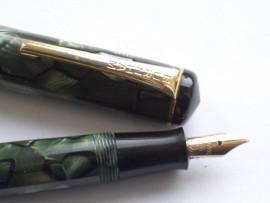 BURNHAM 50 GREEN MARBLE c1947
