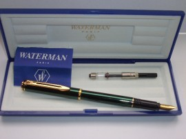 WATERMAN MAESTRO GREEN LACQUER MINT