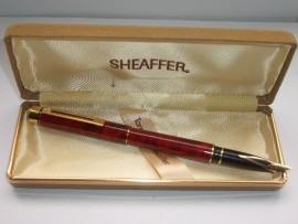 SHEAFFER TARGA 1034 RED RONCE BROAD