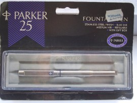 PARKER 25 FLIGHTER. ORIGINAL PACKAGING