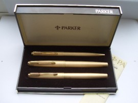 PARKER 61 CIRRUS TRIPLE SET c1975 MINT