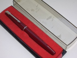 PARKER NEW SLIMFOLD RED c1972