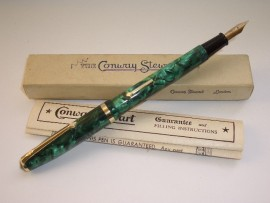 CONWAY STEWART 85L EMERALD PEARL 50s