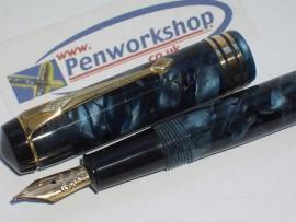 CONWAY STEWART 388 BLUE MARBLE 1940s