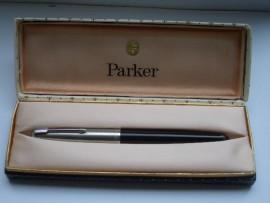 PARKER 51 CLASSIC BLACK BOXED 1950s