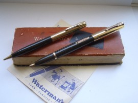 WATERMAN TAPERITE STATELEIGH SET 1940s