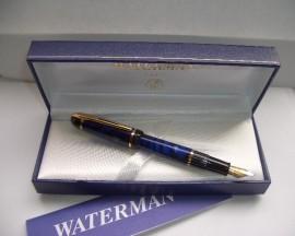 WATERMAN PHILEAS BLUE MARBLE UNINKED!