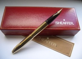 SHEAFFER IMPERIAL 797 FLUTED GP 1976