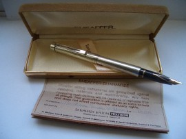 SHEAFFER TARGA 1004 STERLING SILVER
