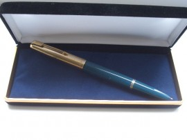 PARKER 51 CUSTOM TEAL BLUE 1950s