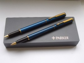PARKER RIALTO SET LAQUE BLUE 2004