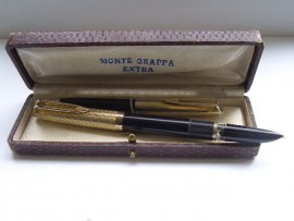 MONTEGRAPPA PISTON FILL SET c1950