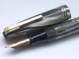 WATERMAN 512V SILVER/GREY PEARL 1947