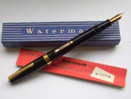 WATERMAN 515 OBLIQUE ITALIC MINT!