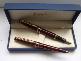 WATERMAN EXPERT Mk1 SET BURGUNDY