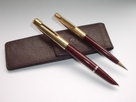 PARKER 51 CUSTOM SET BURGUNDY 1954