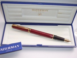 WATERMAN LAUREAT Mk11 RED MARBLE MINT!