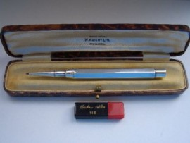 BAKERS PERM-POINT Mechanical Pencil Sterling Silver.