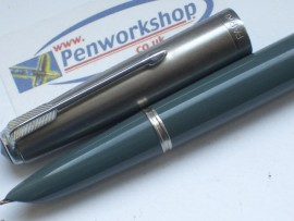 PARKER 51 CLASSIC  GREY 1950 ENGLISH