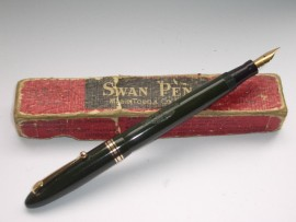 SWAN LEVERLESS 4240 GREEN c1949