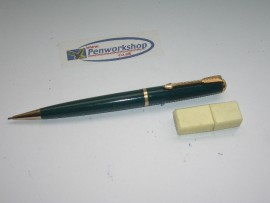 PARKER DUOFOLD PENCIL GREEN 1950s