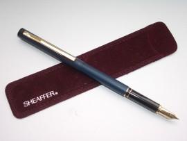 SHEAFFER TRZ 62 MATTE BLUE 1980s MINT!