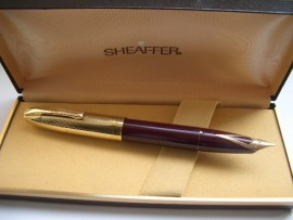 SHEAFFER PFM V BURGUNDY 1950s