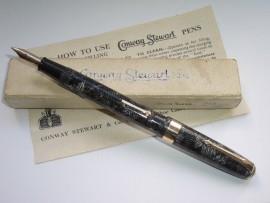 CONWAY STEWART 27 GREY HATCH 1950s