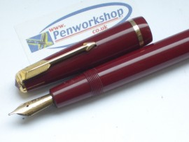 PARKER DUOFOLD SENIOR RED 1950s