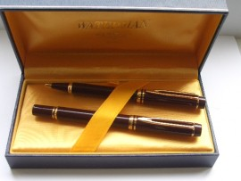 WATERMAN Le MAN 200 SET CORDOVAN 80s