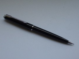 PARKER 45 PENCIL BLACK MINT.