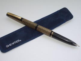 SHEAFFER LADY 904 GOLD PAISLEY 1960s