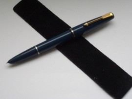 PARKER 17 LADY F/PEN BLUE c1964
