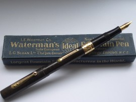 WATERMAN IDEAL 54 CHASED HR 1920s