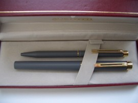 SHEAFFER TARGA 1055 MATTE GREY SET