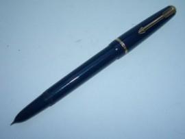 PARKER DUOFOLD LADY F/Pen. Blue 1950s
