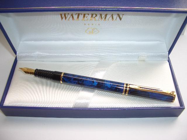 Waterman Laureat Mk11 Blue Marble Penworkshop Sale Of